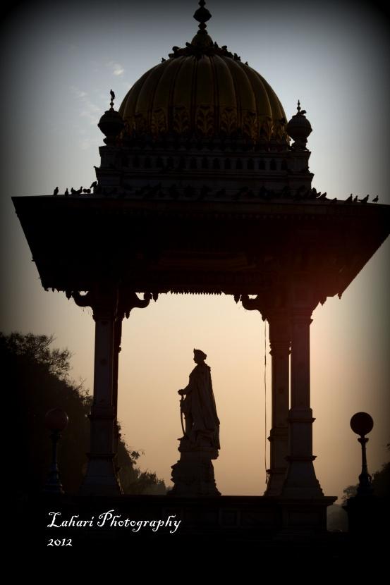 Tipu Sultan statue